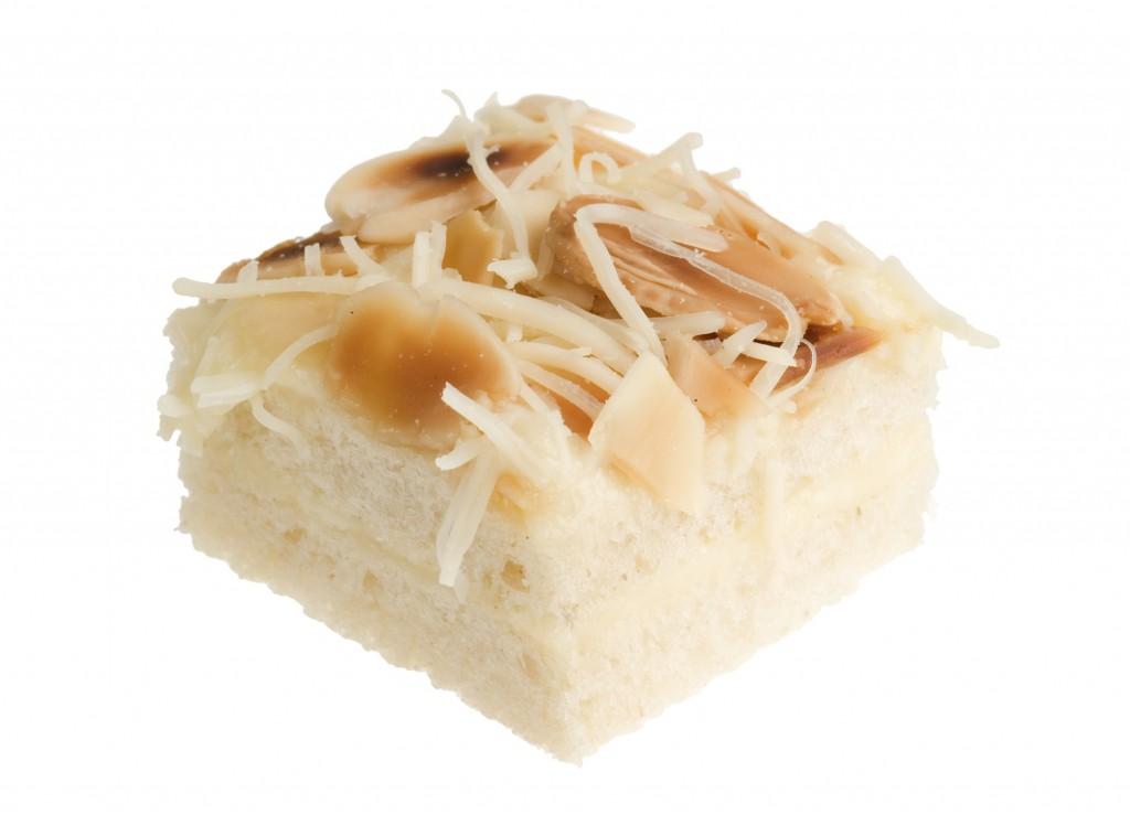 Quadradet formatge i ametlles