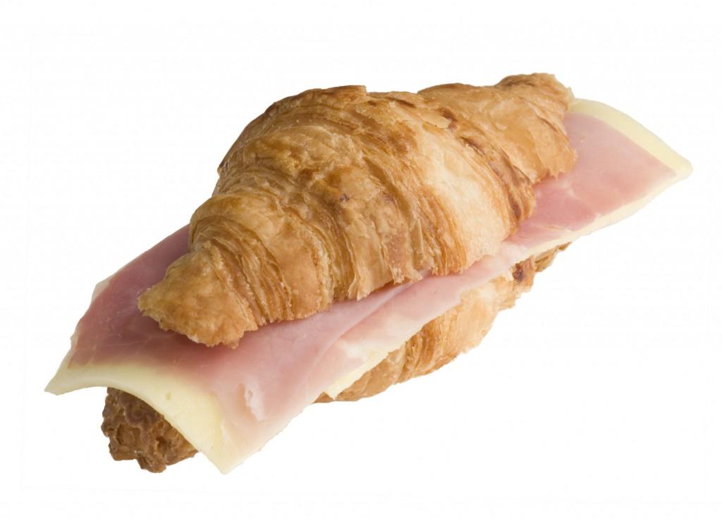 Croissant pernil i formatge