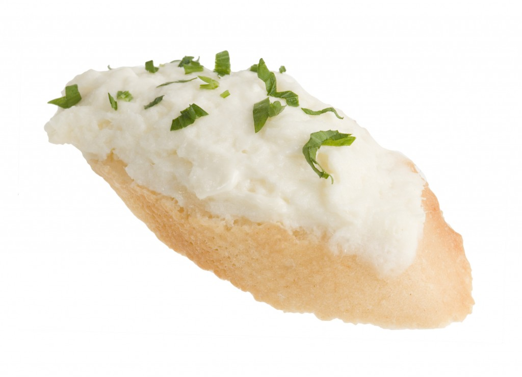 Montadito brandada bacalla